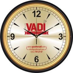 V30-623-SA Metal Kadranlı Plastik Duvar Saati